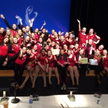Armstrong Dance Teams Win at Competition!